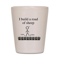 roadofsheep Shot Glass