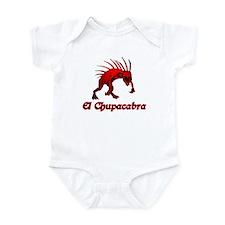 El Chupacabra Red Infant Bodysuit