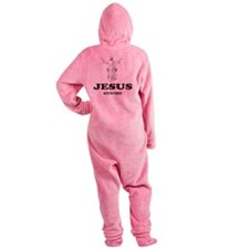 JESUSHATESTHEYANKEES Footed Pajamas