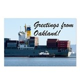 Middle Harbor Ship & Tugs Postcards (Package of 8)