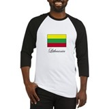 Lithuania - Lithuanian Flag Baseball Jersey