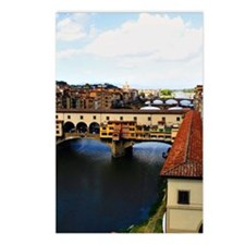 Florence Ponte Vecchio Postcards (Package of 8)
