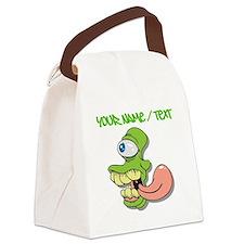 Cyclops Alien Canvas Lunch Bag