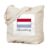 Luxemborg - Flag Tote Bag