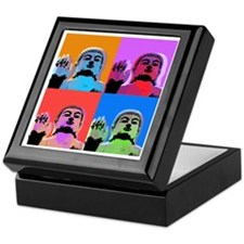 Buddha Pop Art Warhol style Keepsake Box