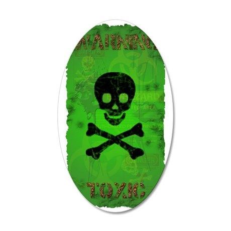 Toxic_280_H_SIGG copy 35x21 Oval Wall Decal
