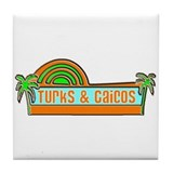 Unique Turks and caicos Tile Coaster
