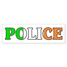 Irish Police Bumper Bumper Sticker