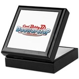 Cool Bobby B's Doo Wop Stop Keepsake Box