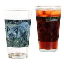 HalFox5.5x4.25 Drinking Glass