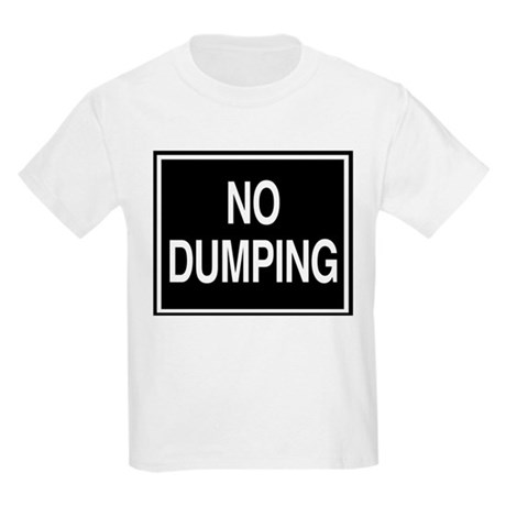 No Dumping sign Kids T-Shirt