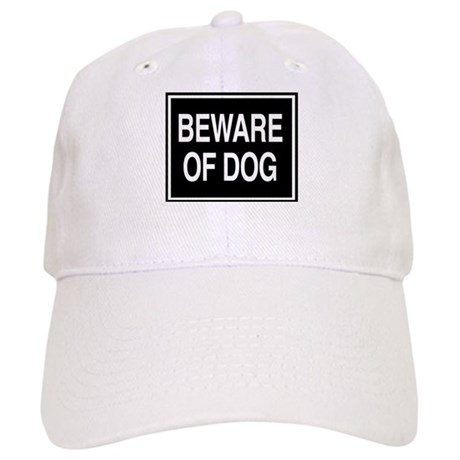 Beware of Dog - sign Cap