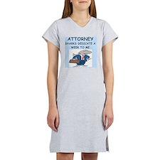 ATTORNEY Women's Nightshirt