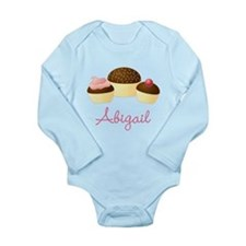 Personalized Chocolate Cupcake Body Suit