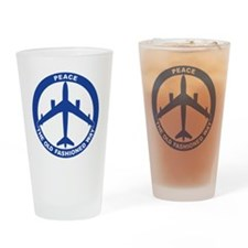 2-Peace The Old Fashioned Way - B-4 Drinking Glass
