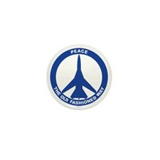 2-Peace The Old Fashioned Way - FB-111 Mini Button