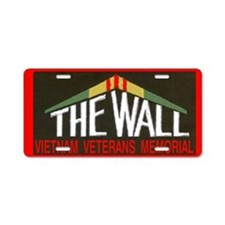 THE WALLPATCH Aluminum License Plate
