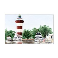 harbor town light long Wall Decal