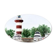 harbor town light long Wall Sticker