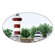 harbor town light long Decal