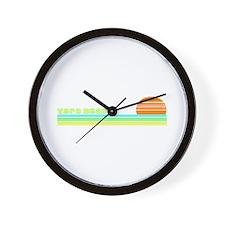 Vero Beach, Florida Wall Clock