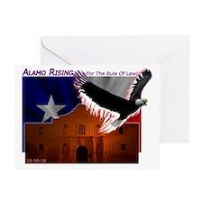 Alamo Rising Light Greeting Card