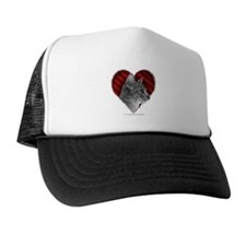 Abyssinian Cat Heart Trucker Hat