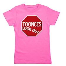 tooncesstopsign Girl's Tee