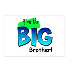 I'm Big Brother Postcards (Package of 8)
