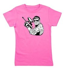 Paintball1 Girl's Tee