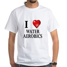 Love Water Aerobics Shirt