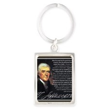 TJ Quotations Portrait Keychain
