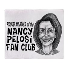 Nancy Fan Club Proud Throw Blanket