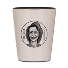 Madam Speaker Shot Glass