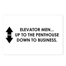 Cute Business humor Postcards (Package of 8)