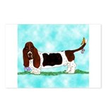Basset Hound Postcards (Package of 8)