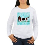 Basset Hound Women's Long Sleeve T-Shirt