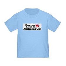 Everyone Loves an Australian Girl T