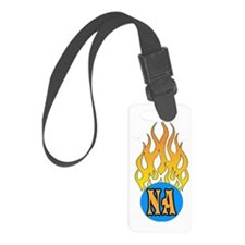 NA FLAMES Luggage Tag