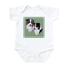 Australian Shepherd Twosome Infant Bodysuit