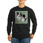 Australian Shepherd Twosome Long Sleeve Dark T-Shi