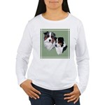 Australian Shepherd Twosome Women's Long Sleeve T-