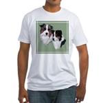 Australian Shepherd Twosome Fitted T-Shirt