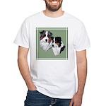 Australian Shepherd Twosome White T-Shirt