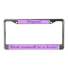 Doula License Plate Frame