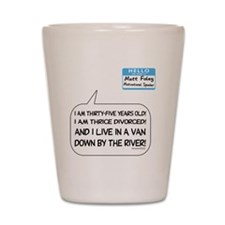 snl10a Shot Glass