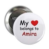 My heart belongs to amira Button