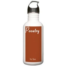 Pooetry Front Cover Water Bottle