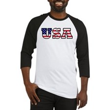 USA Flag2 Baseball Jersey