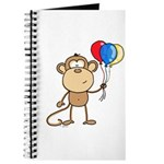 Monkey with Balloons Journal